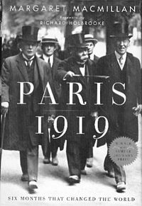 cover of Paris 1919 by Margaret MacMillan