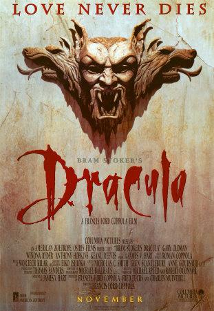 Bram Stokers Dracula movie poster