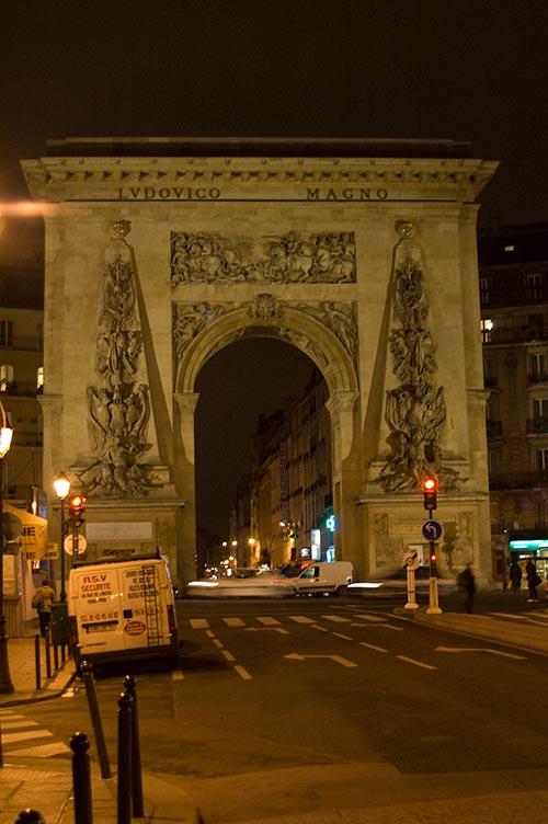 Roman Arch in Paris