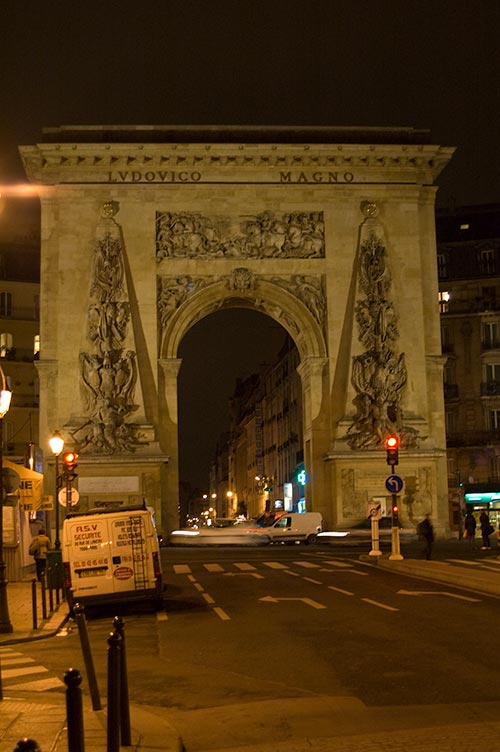 Roman Arch in Paris