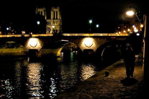 Seine River, Paris by Night