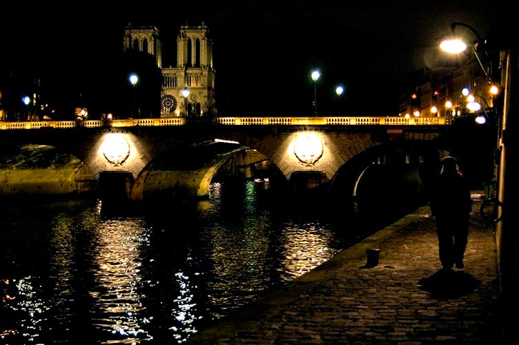 Seine River, Paris by Night
