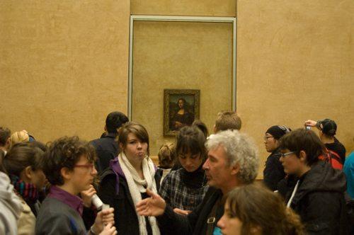 Mona Lisa at the Louvre, Paris