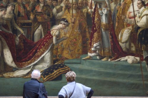 Emperor Napoleon Crowning Himself by Jacques Louis David