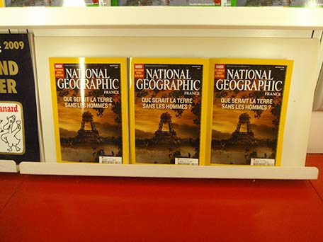 National Geographic cover of Paris