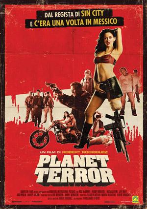 Planet Terror movie poster