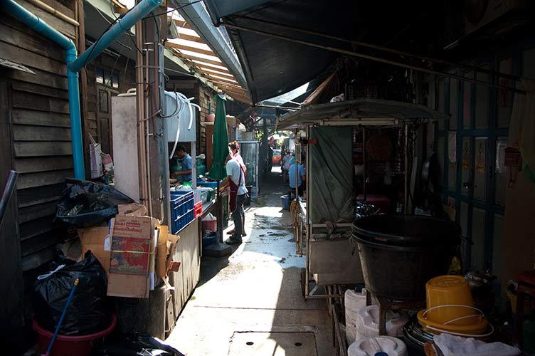Bangkok Thailand alley