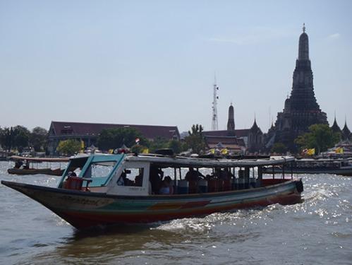Bangkok Thailand River Transport