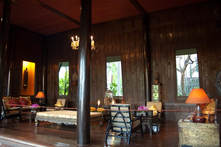 interior of Jim Thompson House, Bangkok, Thailand