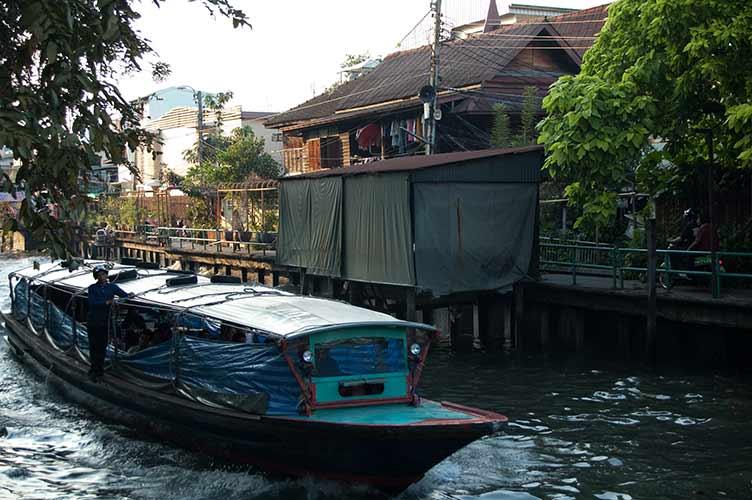 canal, Bangkok, Thailand