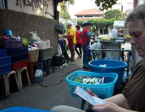street food, Bangkok,Thailand