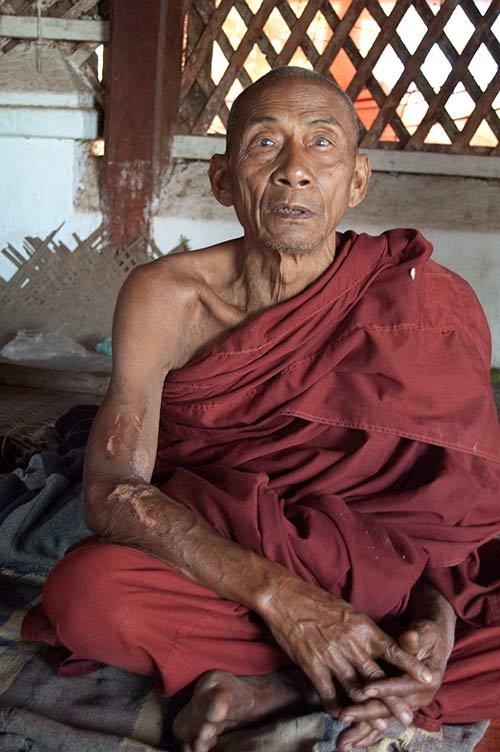 monk at Hsipaw, Myranmar