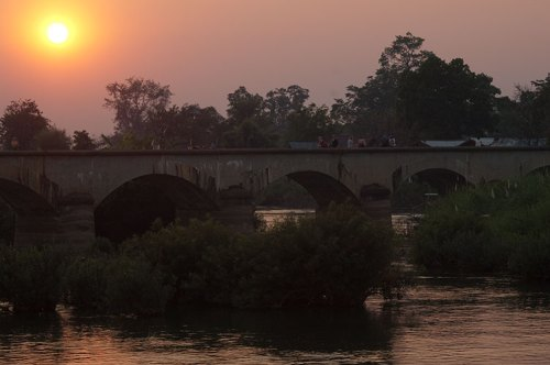French Bridge, Don Khon, Laos