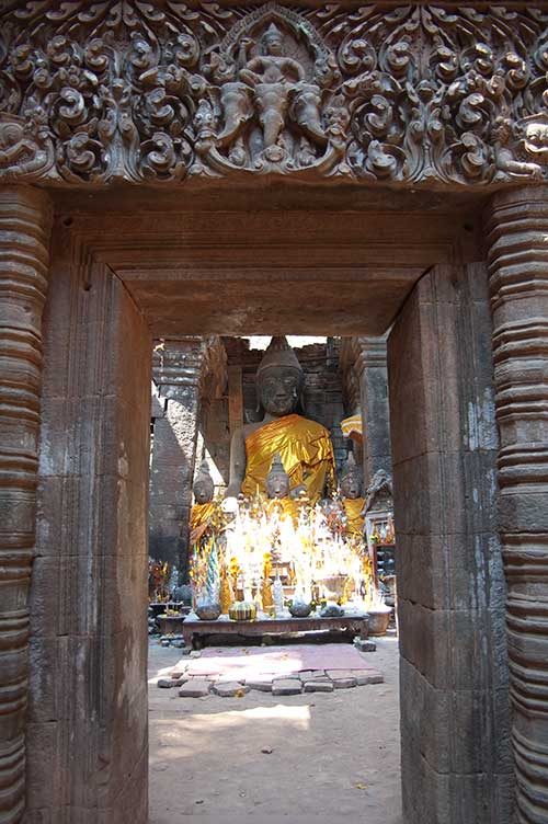 sanctuary, Wat Phu Champasak, Laos
