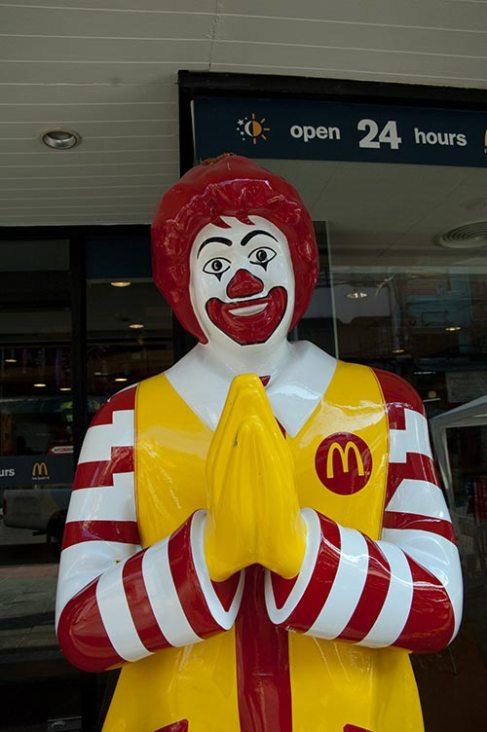 Ronald McDonald in Bangkok