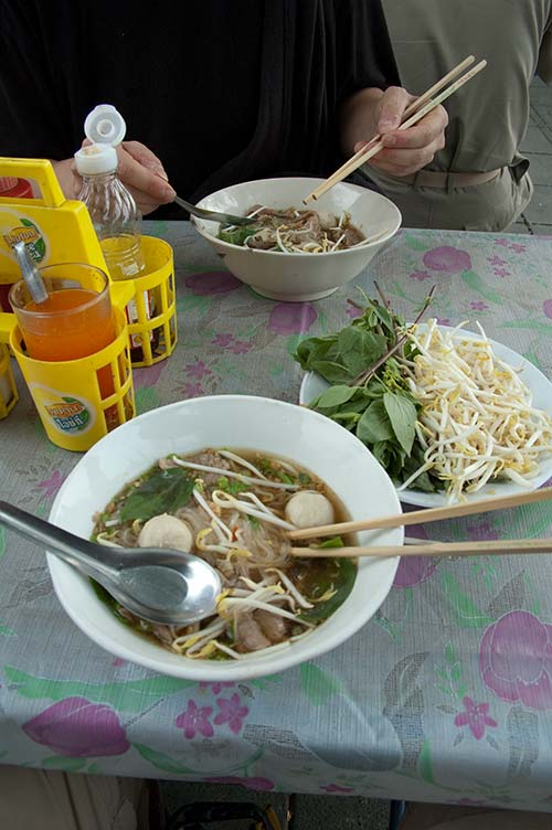 soup near the Grand Palace, Bangkok, Thailand