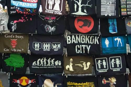 T-shirt designs, Bangkok, Thailand