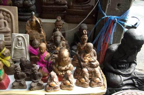 statuettes, Bangkok, Thailand