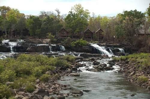 Tad Hang, waterfalls, Laos