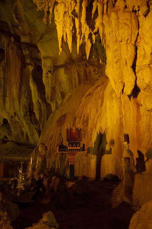 Tham Nang Aen, Laos
