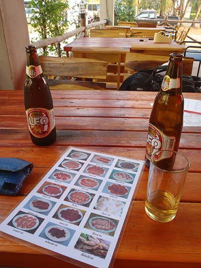 restaurant in Nakhon Phanom, Thailand