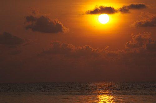 sunset, Bai Lan, Koh Chang, Thailand