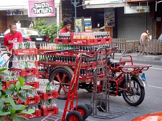 Coke delivery, Bangkok, Thailand