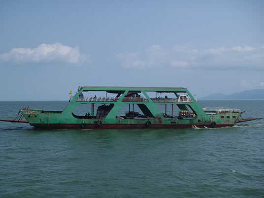 ferry from Kho Chang, Thailand