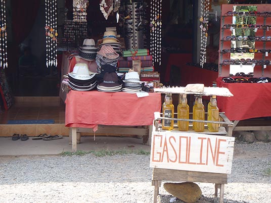 gas for sale, Koh Chang, Thailand