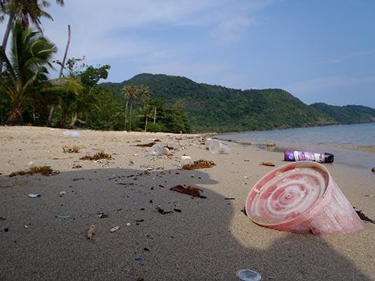 Bang Bao beach scene, Koh Chang, Thailand