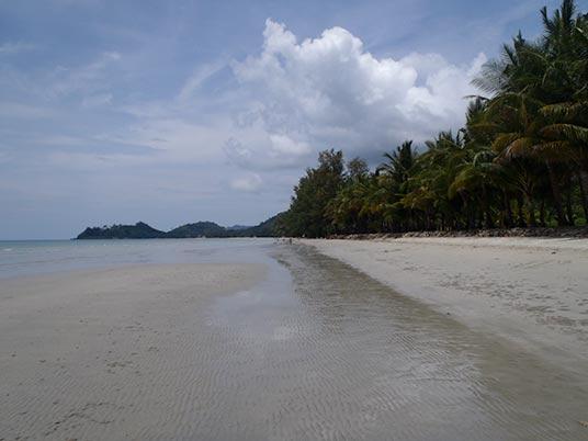 Khong Prao beach, Koh Chang, Thailand