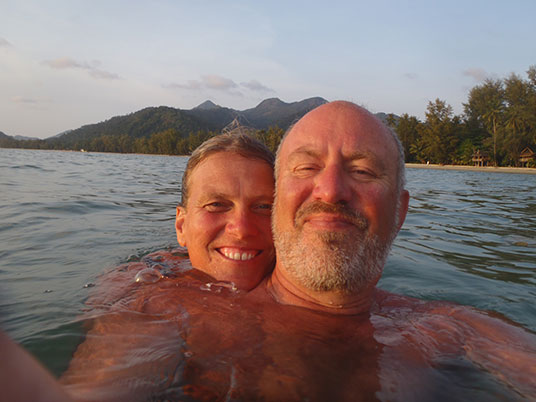 Sue and Kelly, Khong Prao, Koh Chang, Thailand