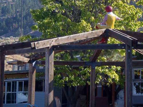 Ronald McDonald on Skaha Lake
