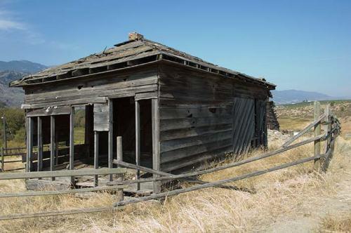 old farm building, Oliver, BC