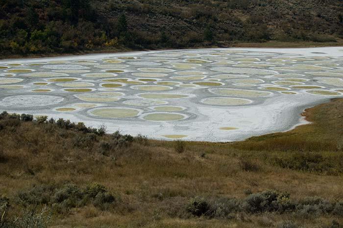 Spotted Lake, Osoyoos, BC