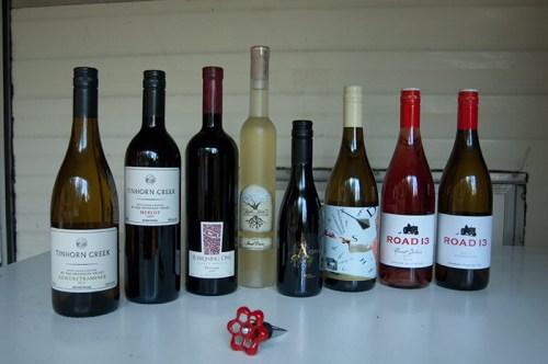Okanagan wines