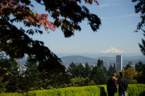 Mount Hood from Washington Park