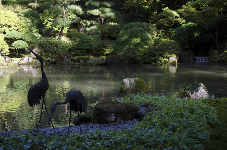 Japanese Garden, Washington Park, Portland, Oregon