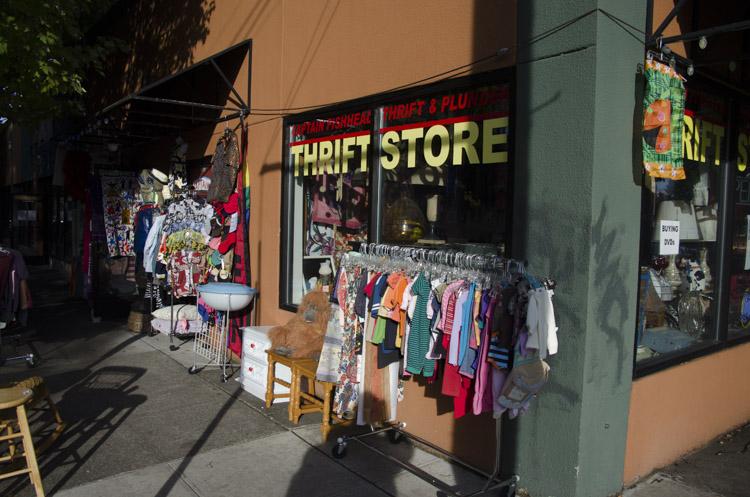 Captain Fishhead Boutique Thrift Store, Portland, Oregon