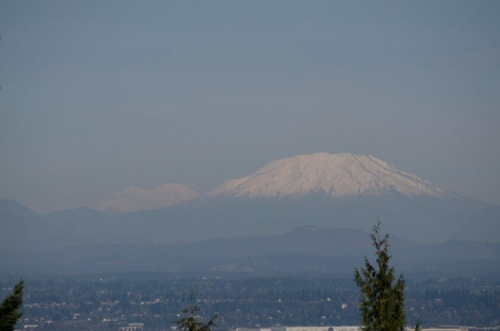 Mt. St. Helens as seen from Portland