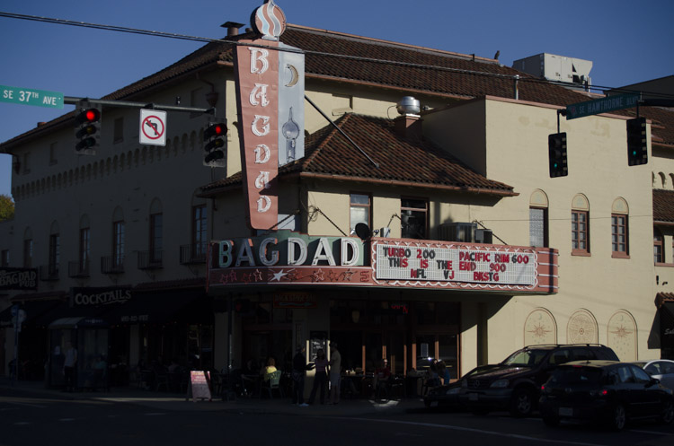 The Bagdad Theatre, Portland, Oregon