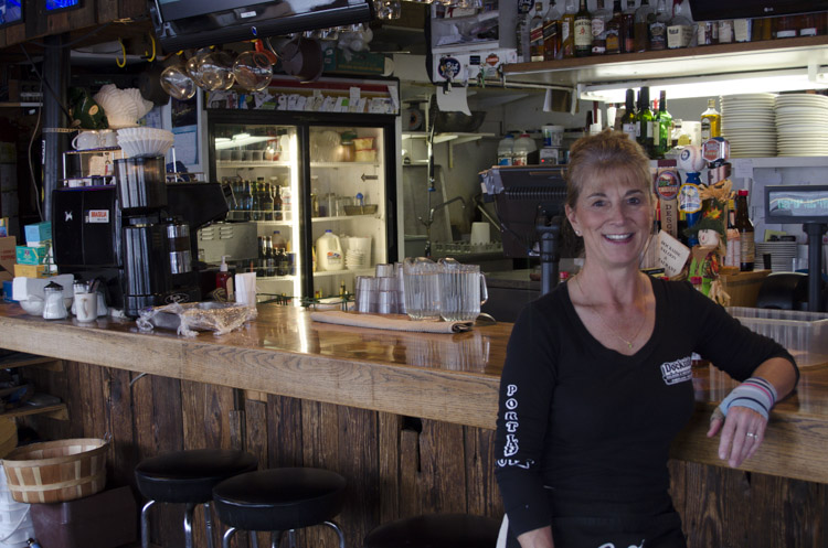 Kathy Peterson, Dockside Saloon and Restaurant, Portland, Oregon