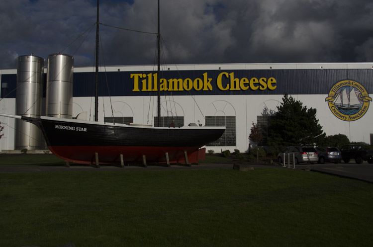 Tillamook Cheese, Oregon