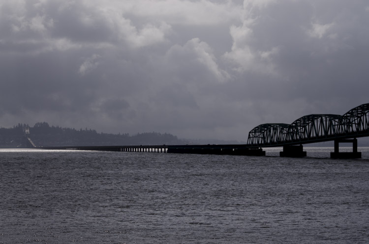 Astoria-Megler Bridge, from the Washington state side