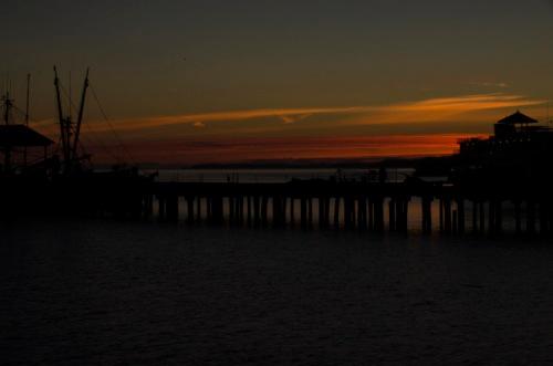 sunrise, Port Angeles, Washington