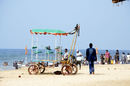 ganpatipule-cart