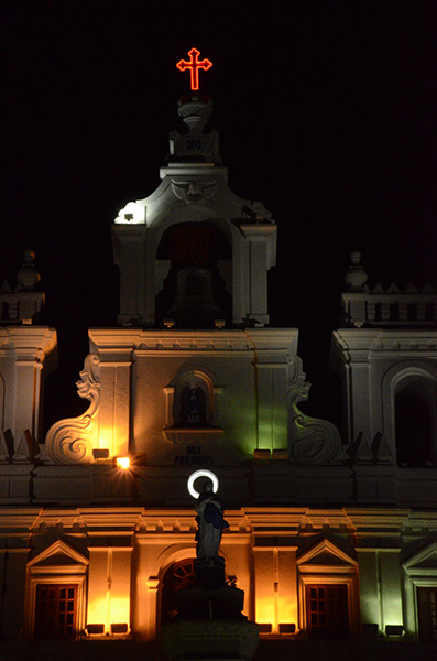 panjim-cathedral-night