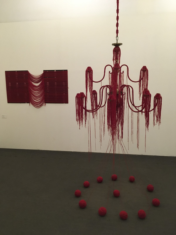 Monali Meher's Auspiciously Red and other textile works