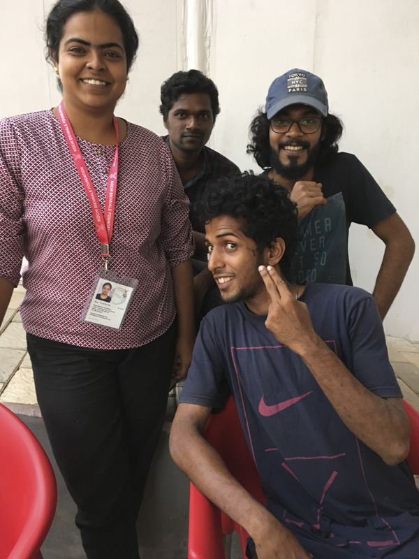 Kochi Muziris Biennale volunteers