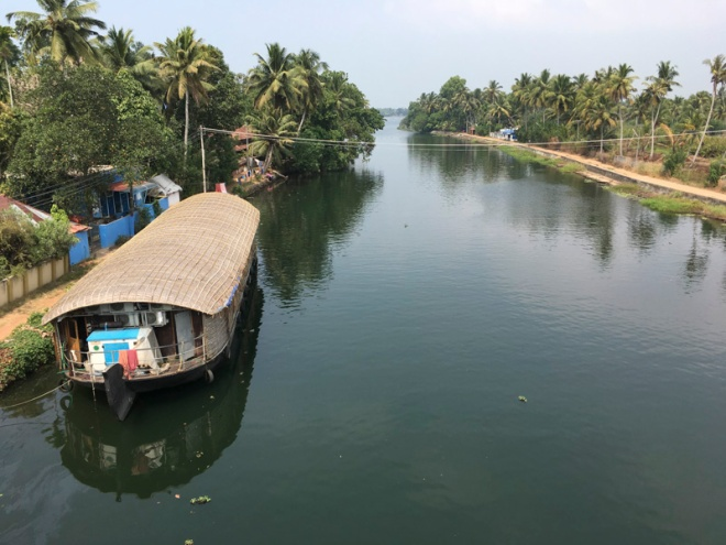 Canal, looking back North from Kerala State ferry